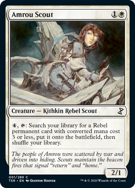 Amrou Scout Time Spiral Remastered Draft Guide Best Commons