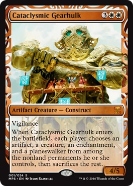 001 Cataclysmic Gearhulk