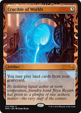 011 Crucible of Worlds Kaladesh Masterpieces
