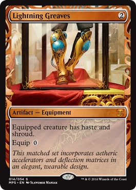 014 Lightning Greaves Kaladesh Masterpieces