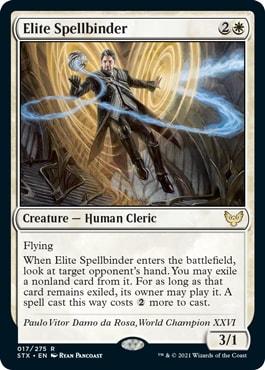 Elite Spellbinder Human Tribal Strixhaven Decklist