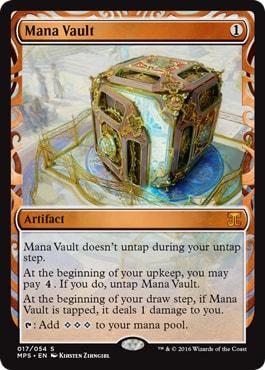 017 Mana Vault Kaladesh Masterpieces MTG