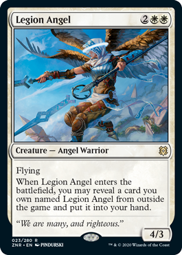 Top 10 Cards to Craft From Zendikar Rising Legion Angel