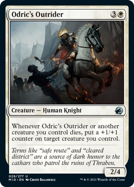 Odric's Outrider Midnight Hunt Draft Guide