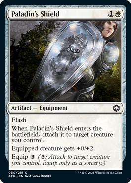 Paladin's Shield AFR Draft Guide