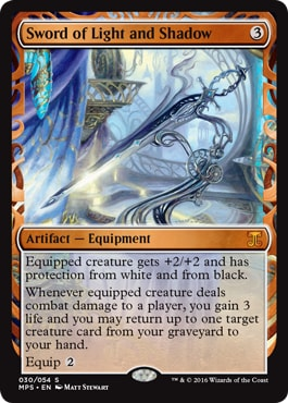 030 Sword of Light and Shadow MTG kaladesh Masterpiece