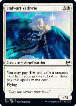 Stalwart Valkyrie Best Commons Kaldheim Draft Guide
