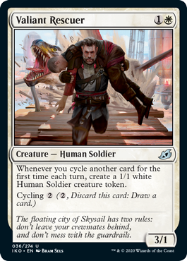 Red White Cycling Deck List Best Standard Deck Arena Valiant Rescuer
