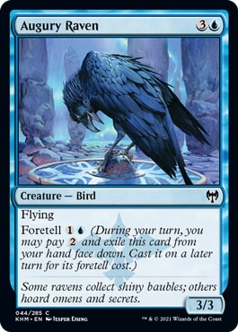 Augury Raven Best Commons Kaldheim Draft Guide