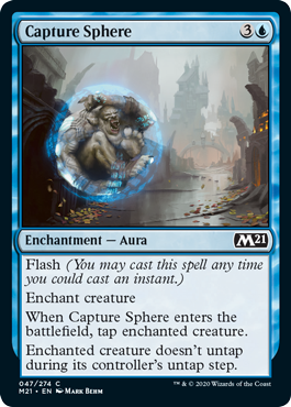Core Set 2021 M21 Draft Guide Capture Sphere