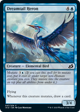 MTG Ikoria Draft Guide Dreamtail Heron