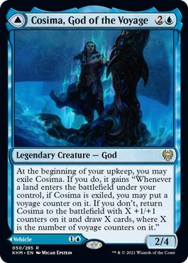 Cosima, God of the Voyage Ramp Deck New Kaldheim Standard