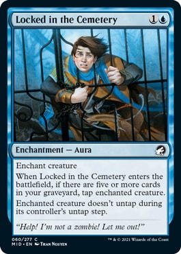Locked in the Cemetery Best Cards Midnight Hunt Draft