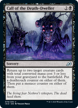 Call of the Death-Dweller Lurrus draft