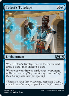 teferi's tutelage new standard decks
