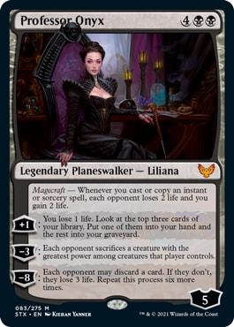 Professor Onyx Standard deck