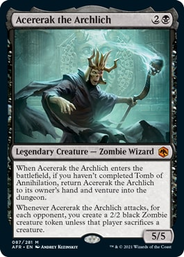 Acererak the Archlich Dungeons of Death Upgrade Guide