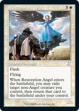 Restoration Angel Time Spiral Old Border Card List