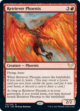 Retriever Phoenix MTG Learn Rules and Interactions