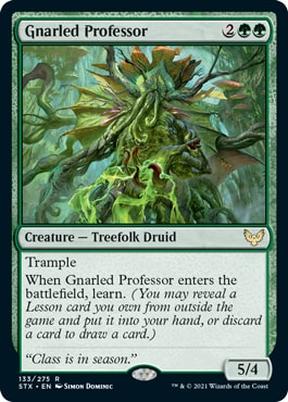 Gnarled Professor Strixhaven Deck