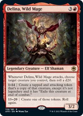 Delina, Wild Mage Draconic Rage Upgrade