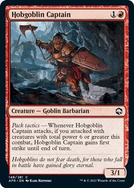 Hobgoblin Captain Quick Draft Forgotten Realms Guide