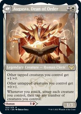 Augusta, Dean of Order Strixhaven Draft Guide