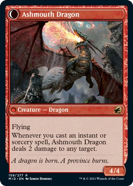 Ashmouth Dragon
