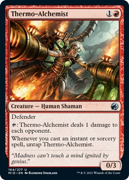 Thermo-Alchemist Innistrad Midnight Hunt Draft