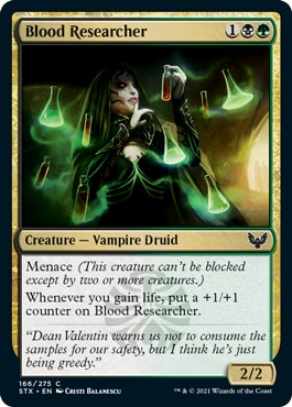Blood Researcher Strixhaven Draft Guide How to draft Witherbloom