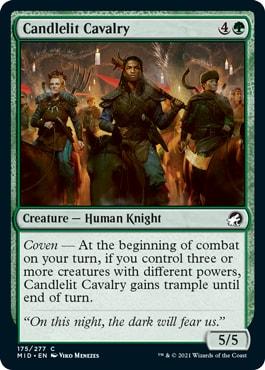 Candlelit Cavalry