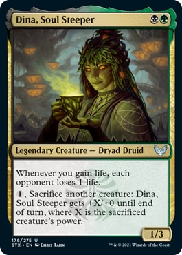 Dina, Soul Steeper How to Draft Witherbloom Strixhaven