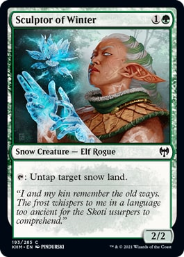 Sculptor of Winter How to Win Kaldheim Draft