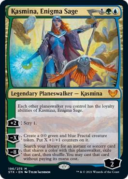 Kasmina, Enigma Sage Standard Decklist Strixhaven