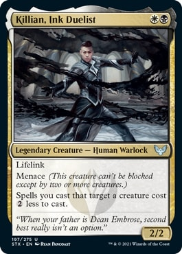 Killian, Ink Duelist How to Draft Silverquill Strixhaven