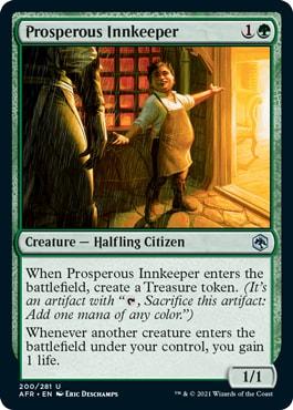 Prosperous Innkeeper AFR Spoilers
