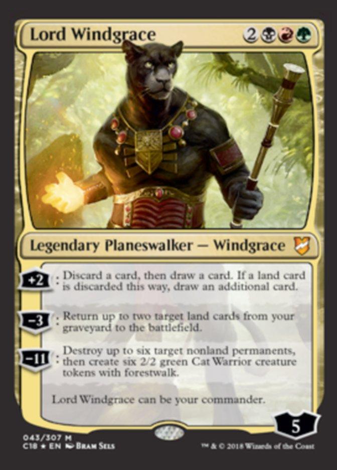 Lord Windgrace Upgrade ideas