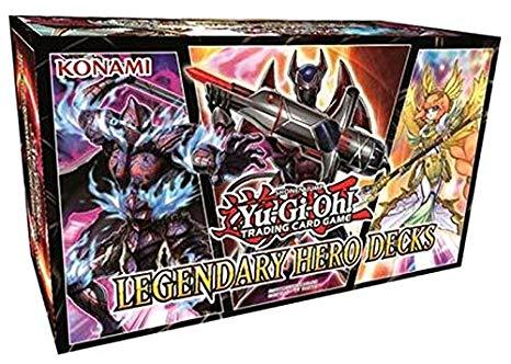 Yugioh gift guide 2018 Legendary Hero Decks Box