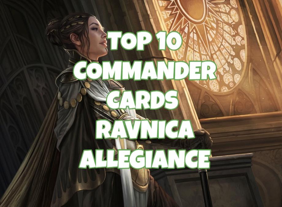 Top 10 Commander Cards in Ravnica Allegiance Banner