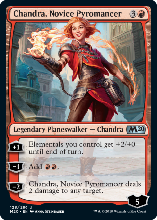 Best-Spoilers-from-Core-Set-2020-Chandra-Novice-Pyromancer