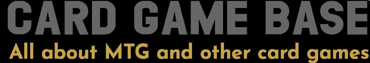 Card Game Base