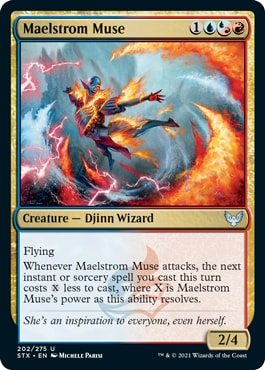 Maelstrom Muse Strixhaven Draft Guide