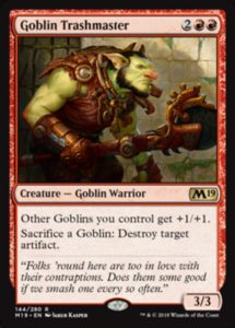 Goblin Trashmaster  Top 10 Commander Cards in M19