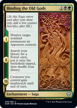 Binding-the-Old-Gods Kaldheim Draft Guide