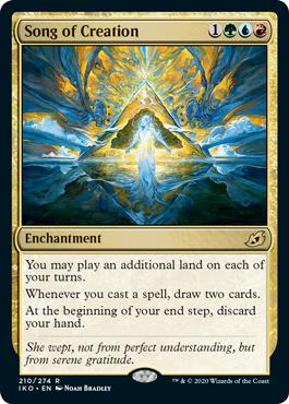 Song of Creation new ikoria decklists