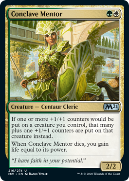 M21 Core Set 2021 Draft Guide Conclave Mentor