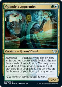 Quandrix Apprentice Magecraft Rules