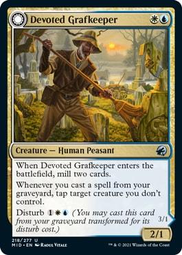 Devoted Grafkeeper Midnight Hunt Draft Archetypes