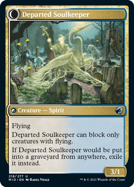 Departed Soulkeeper Innistrad Midnight Hunt Draft Guide