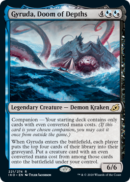 Gyruda Doom of the Depths Draft Ikoria